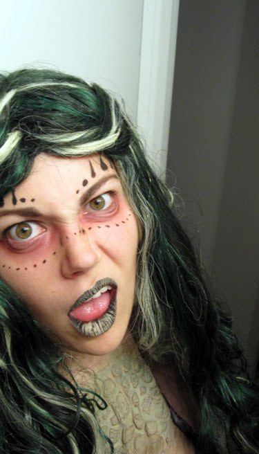 Swamp Witch: A Halloween Costume Retrospective