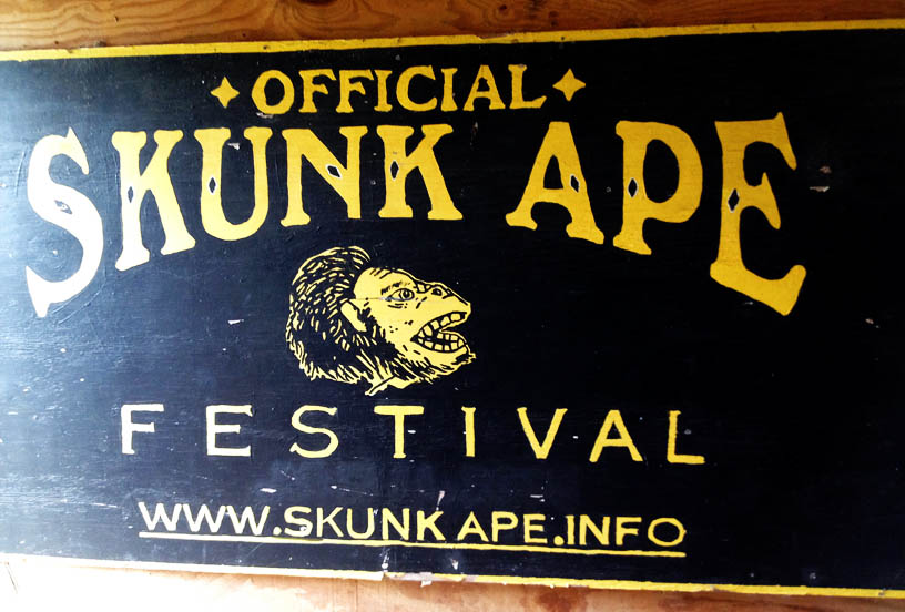 I don't know where that Skunk Ape sleeps, but I do know that he had impure relations with my wife!