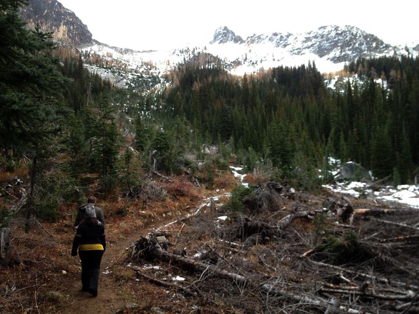 A hike to Blue Lake