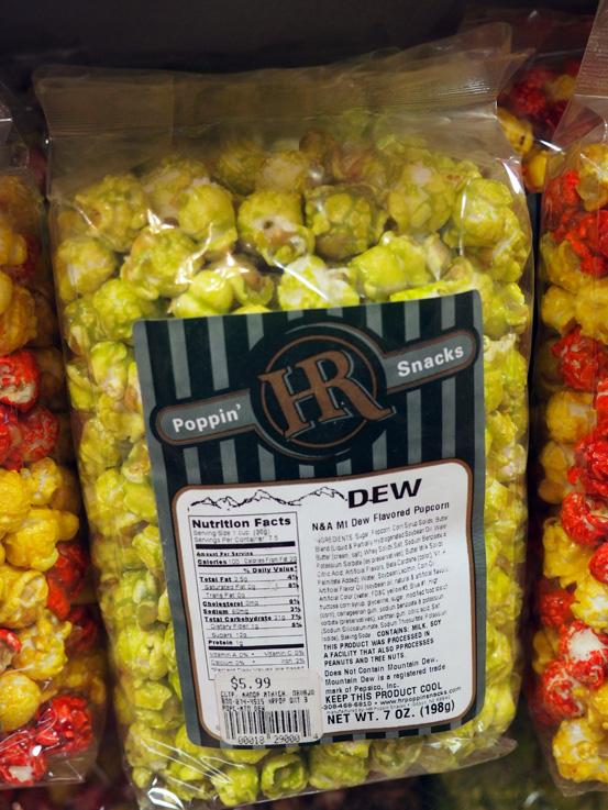Nom or Vom: Like regular caramel corn, but more EXTREME.