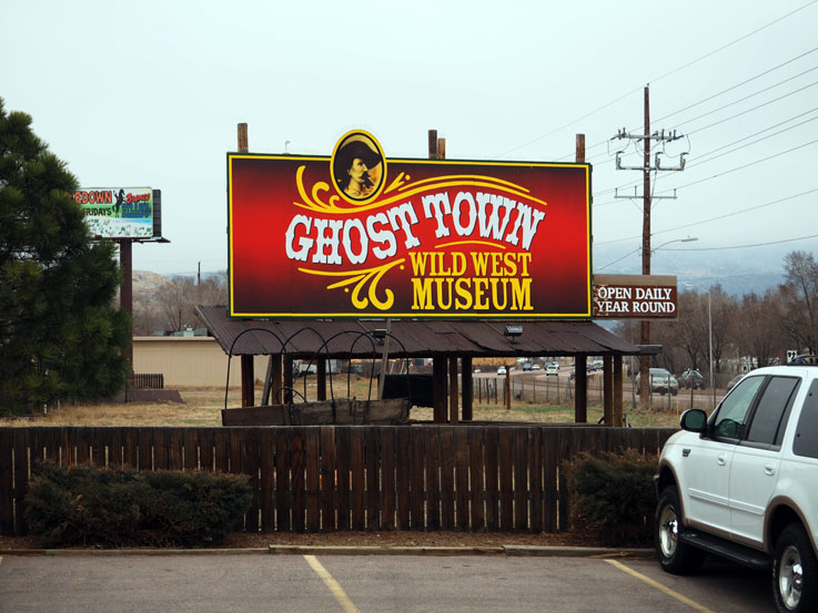 Why'd they build this ghost town so far away?