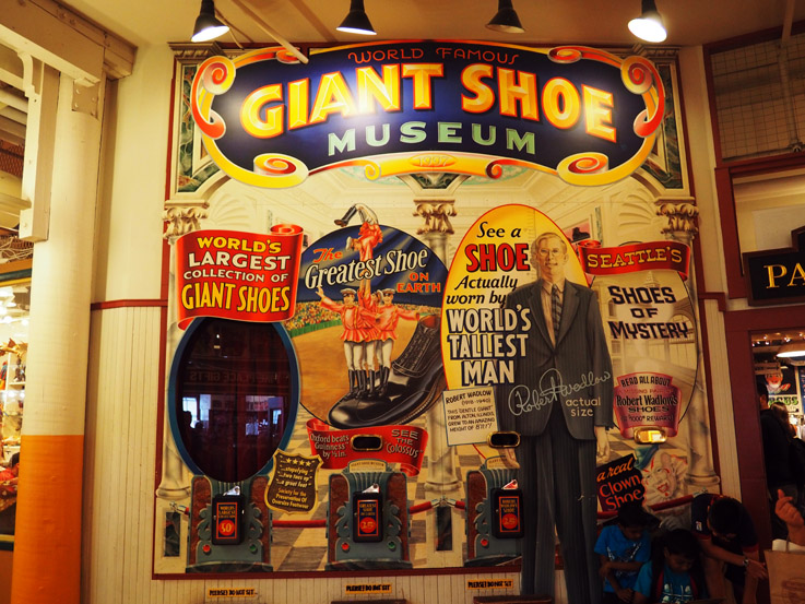 The Giant Shoe Museum in Seattle, WA