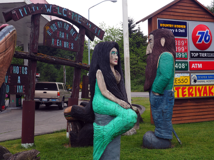 Spotted on the Roadside: Kountry Korner's Krazy Kreatures in Kingston