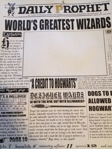 Makin Stuff: A Harry Potter Moving Picture Frame