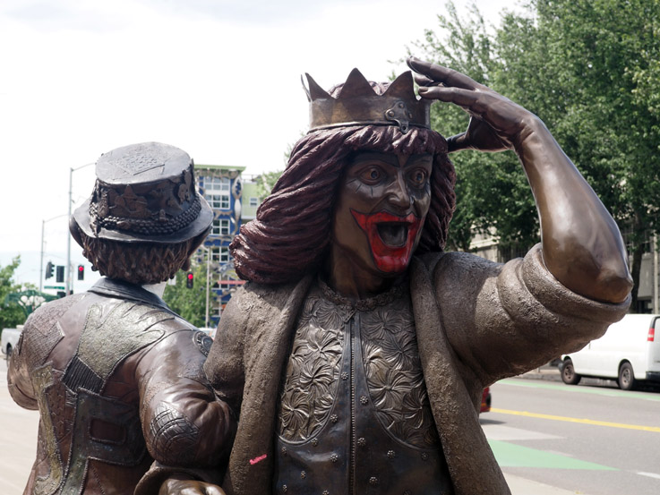 Gertrude Statue