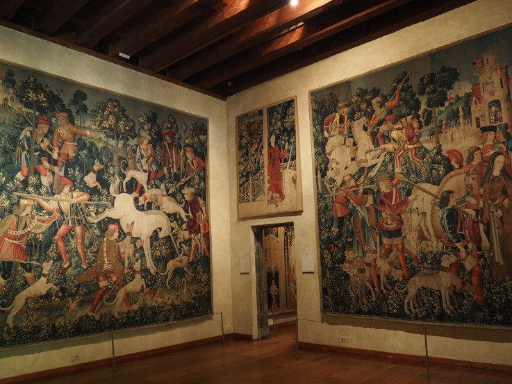 unicorn tapestries room