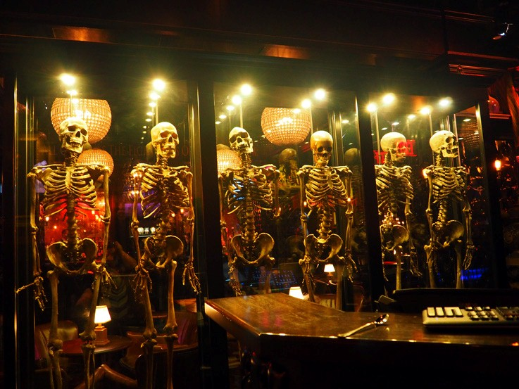 disco skeletons