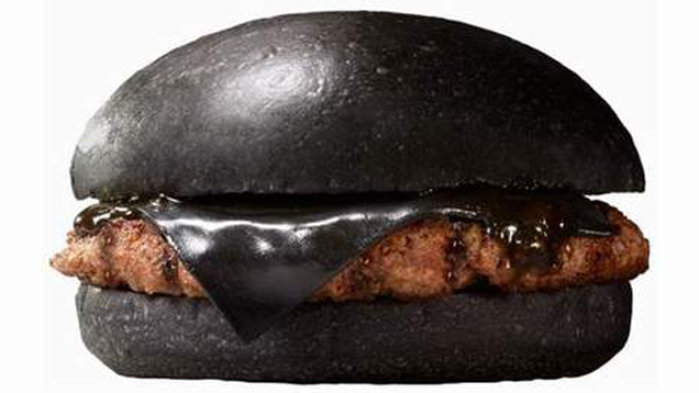 Nom or Vom: The Most Goth Burger Ever