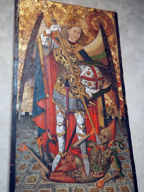 st michael defeats the antichrist