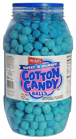 Nom or Vom: Cotton Candy Balls