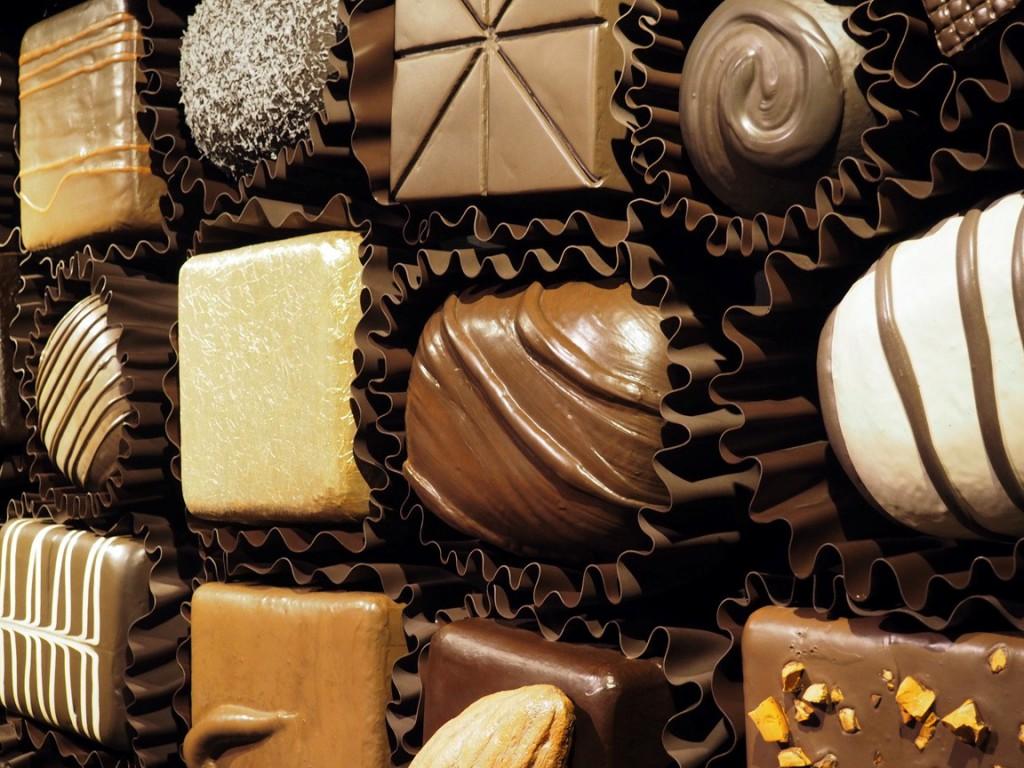 box of chocolates wall