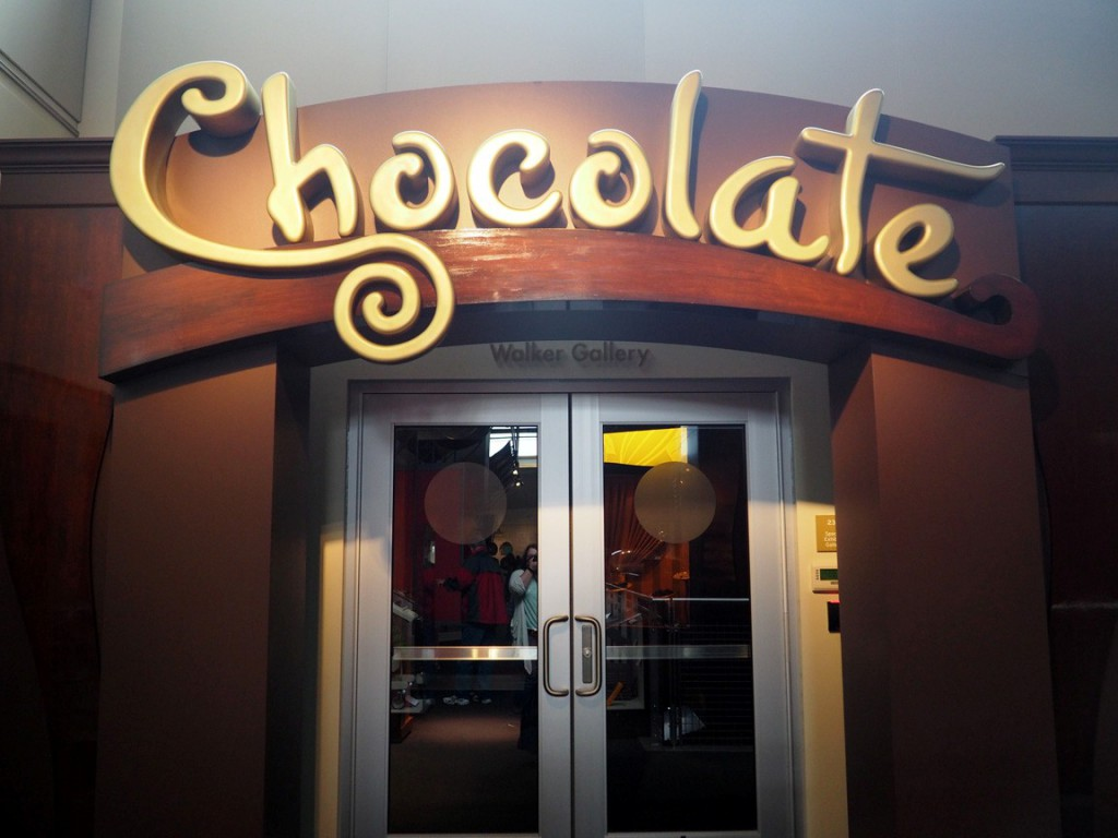 chocolate entryway