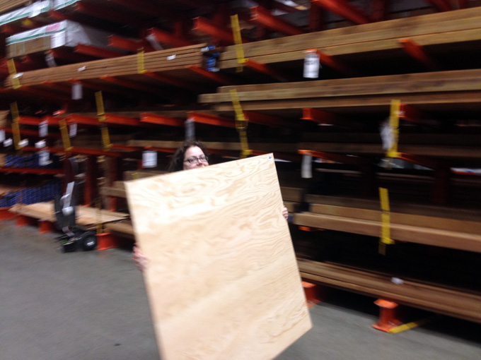 giant plywood