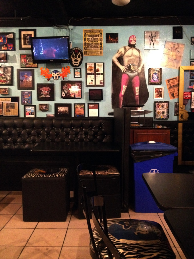 See you in space, Mr. Machete: The Lucha Libre Taco Shop
