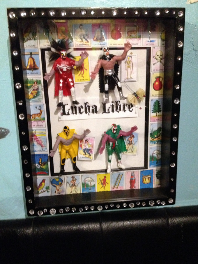 lucha libre shadow box
