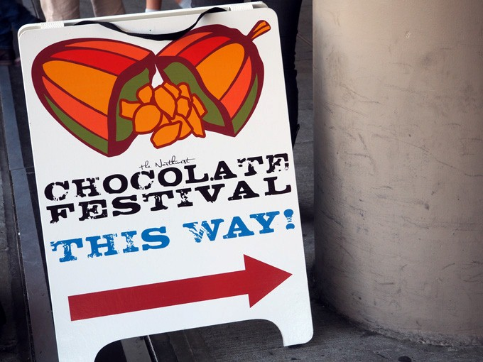 """Don't make me run, I'm full of chocolate!"": The Northwest Chocolate Festival"