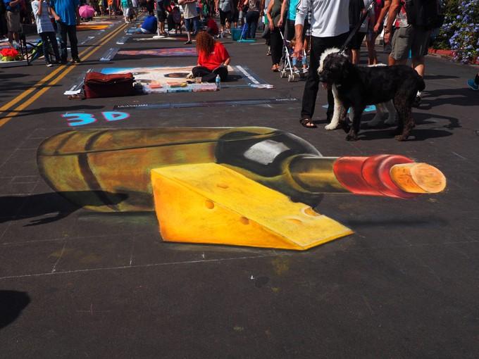 3d wine chalk