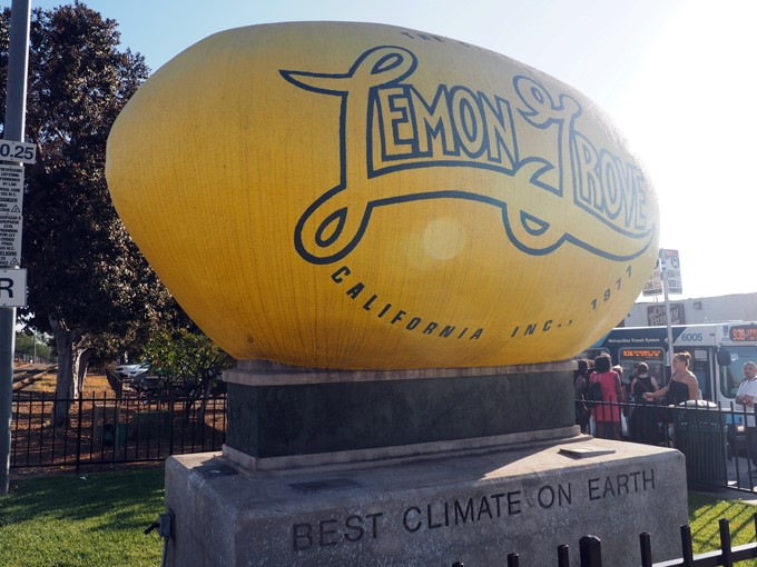 Spotted on the Roadside: When Life Gives You The World's Largest Lemon…