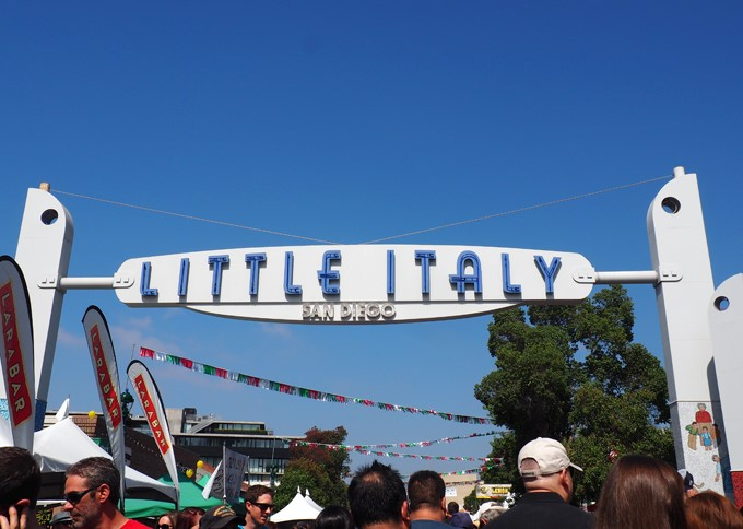 Little Italy Festa in San Diego, CA