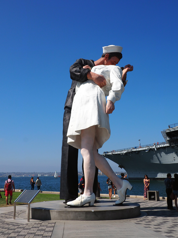 Spotted on the Roadside: Unconditional Surrender in San Diego, CA