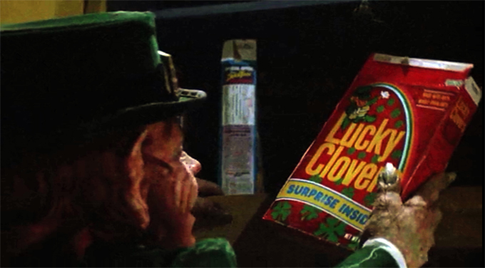 leprechaun lucky clovers
