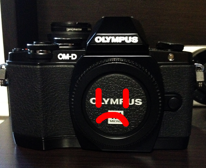 Seven Hundred Dollars Down The Toilet or Why I'll Never Buy Another Olympus Anything