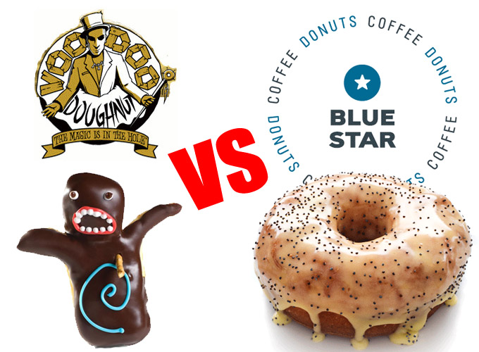 The Portland Donut Throwdown: Voodoo Doughnut vs Blue Star Donuts