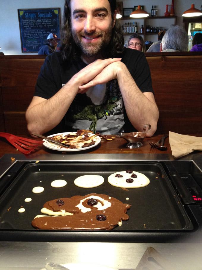 dino pancake