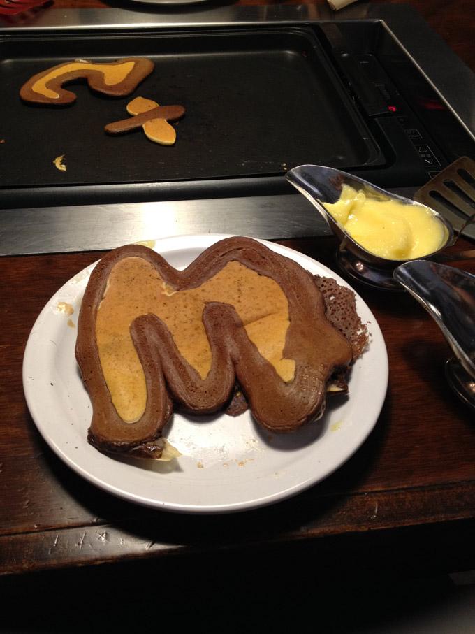 giant m pancake