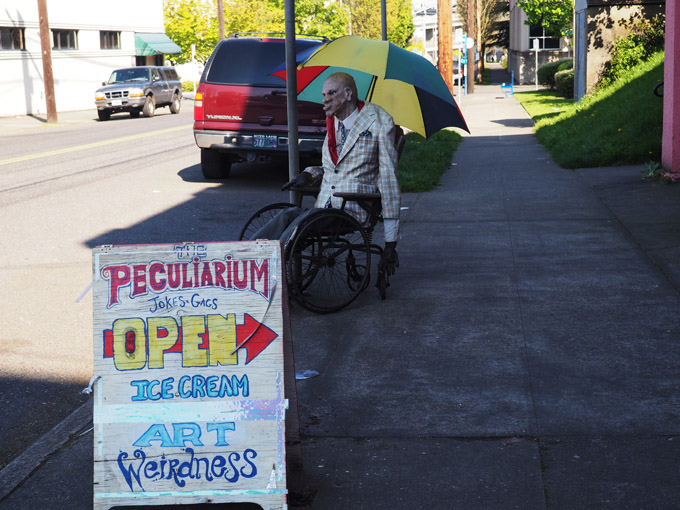 How Very Odd: The FreakyButTrue Peculiarium in Portland, OR