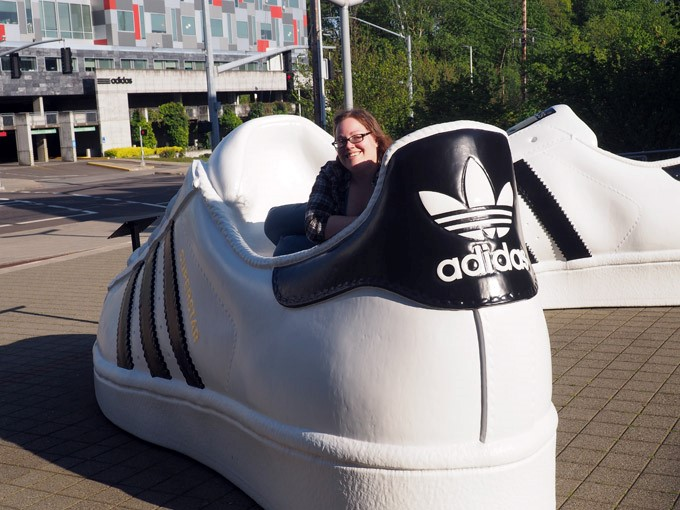 thats one big shoe