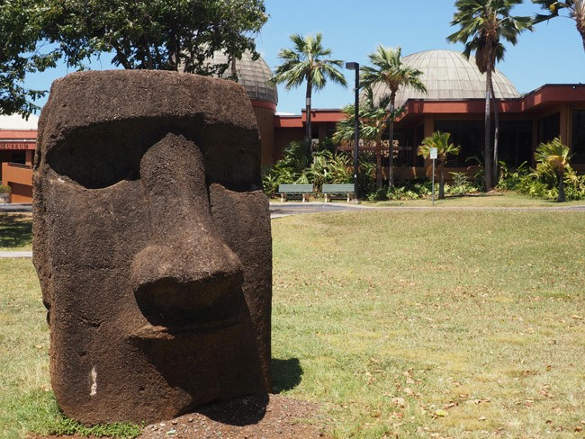 The Bishop Museum in Oahu
