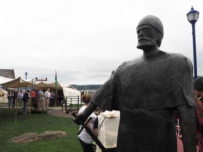 accurate viking statue