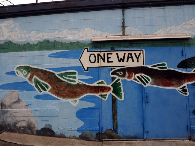 one way mural