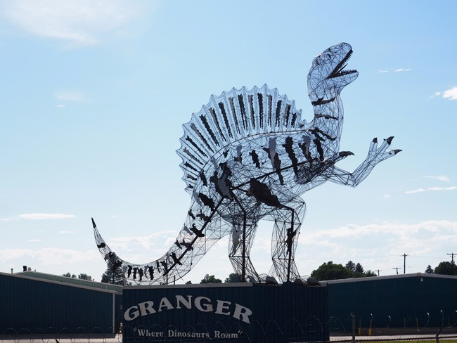Granger, Washington: The Dinosaur Town with Volcano Toilets