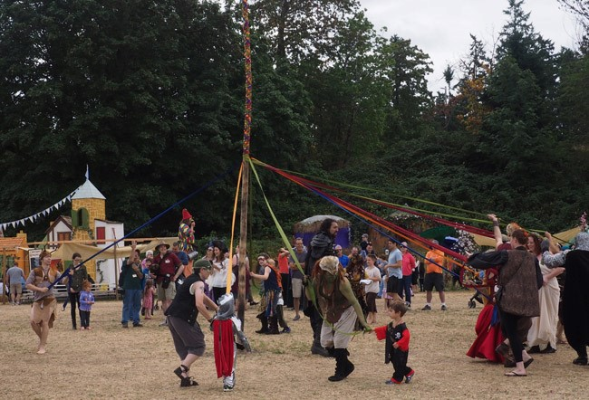 In Days of Old When Knights Were Bold: The Washington Midsummer Renaissance Faire