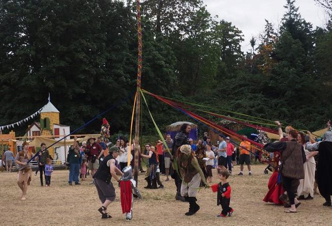 In Days of Old When Knights Were Bold: The Washington Midsummer Renaissance Faire