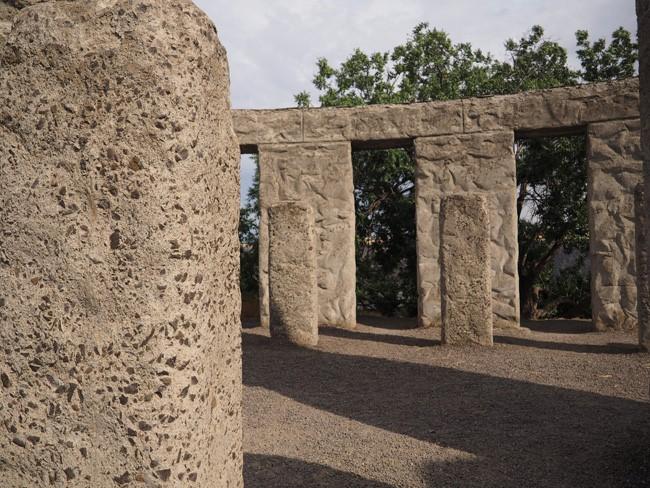 stonehenge greenery