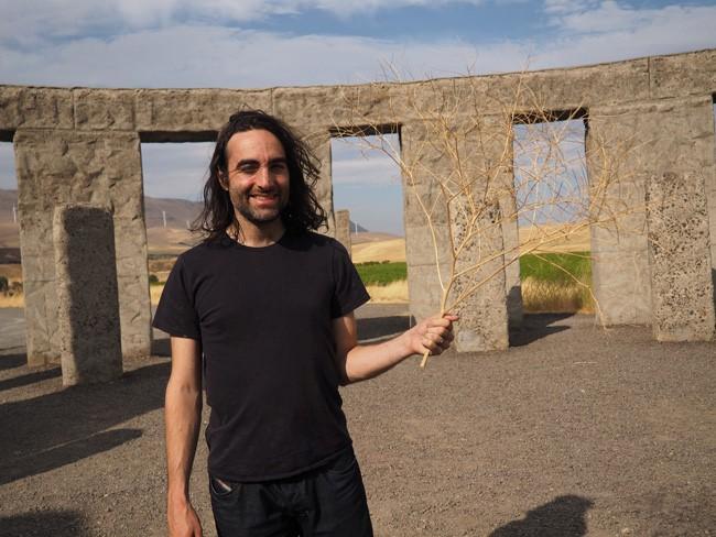stonehenge tumbleweed