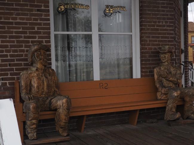 wooden cowboys