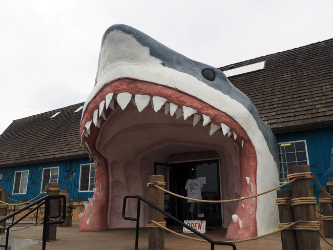 Spotted on the Roadside: We're Gonna Need A Bigger Boat in Ocean Shores, WA