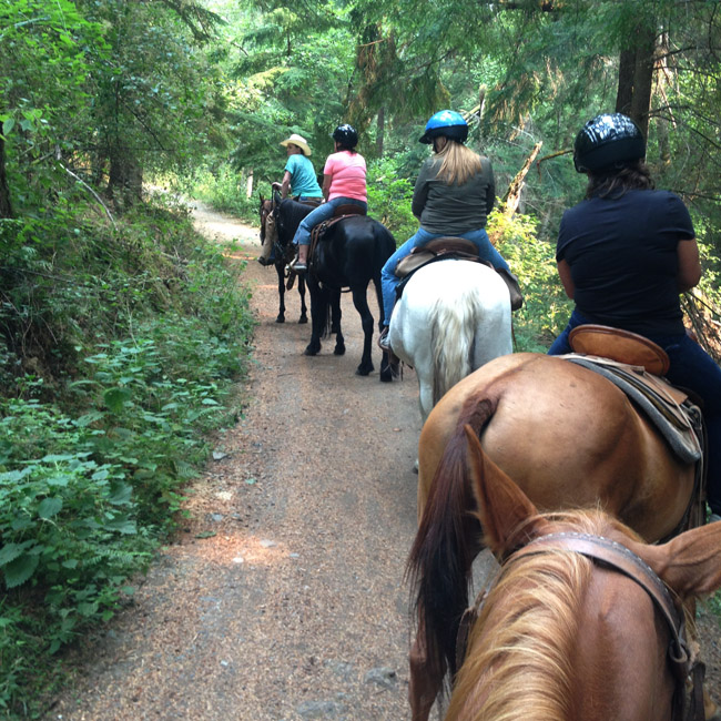 trail ride orcas