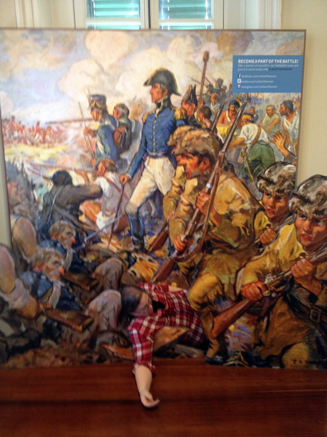 battle of new orleans photo op