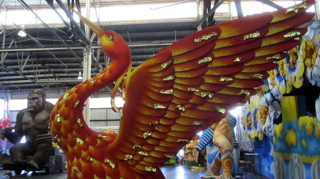 gold leaf phoenix