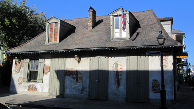 lafittes blacksmith shop exterior
