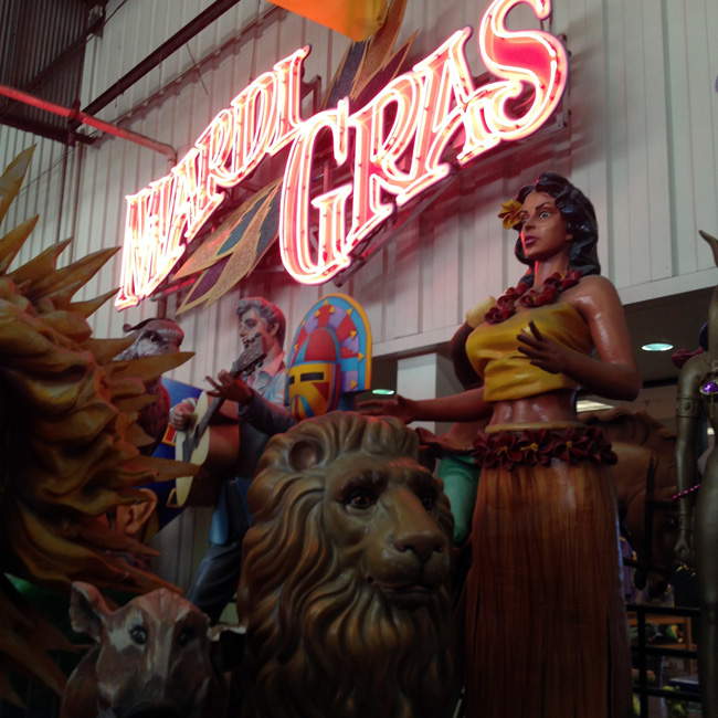 mardi gras world entrance