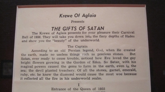 the gifts of satan