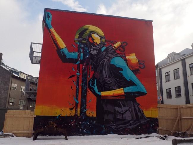 Reykjavik's Thriving Street Art Culture
