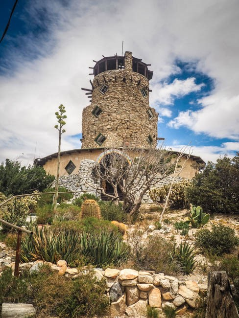 Desert View Tower in Jacumba Hot Springs, CA