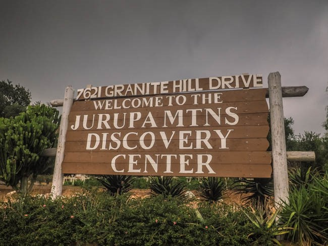 The Jurupa Mountains Discovery Center in Riverside, CA